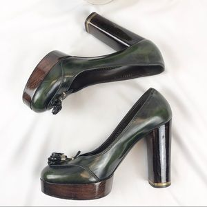 Stella McCartney platform heels pumps vegan